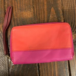 Colorblock Small Wristlet